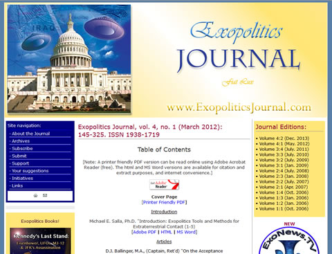 Exopolitics Journal
